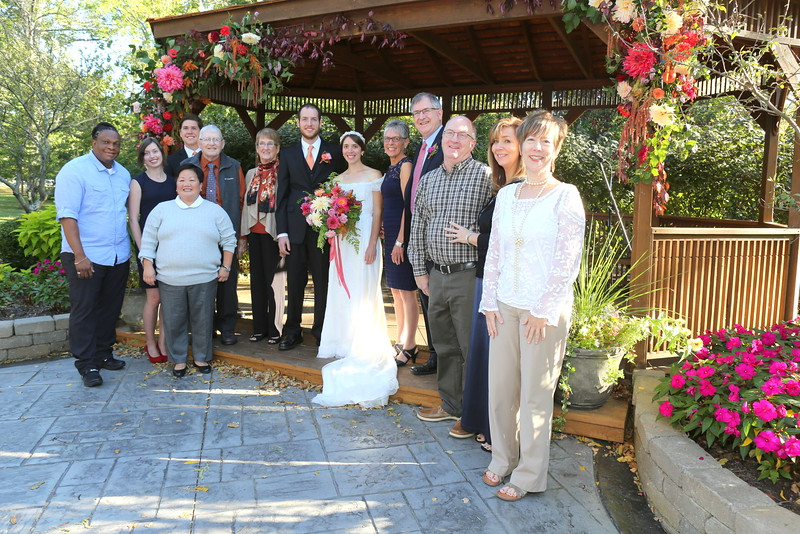 Joel & Nellie & extended Hogle family