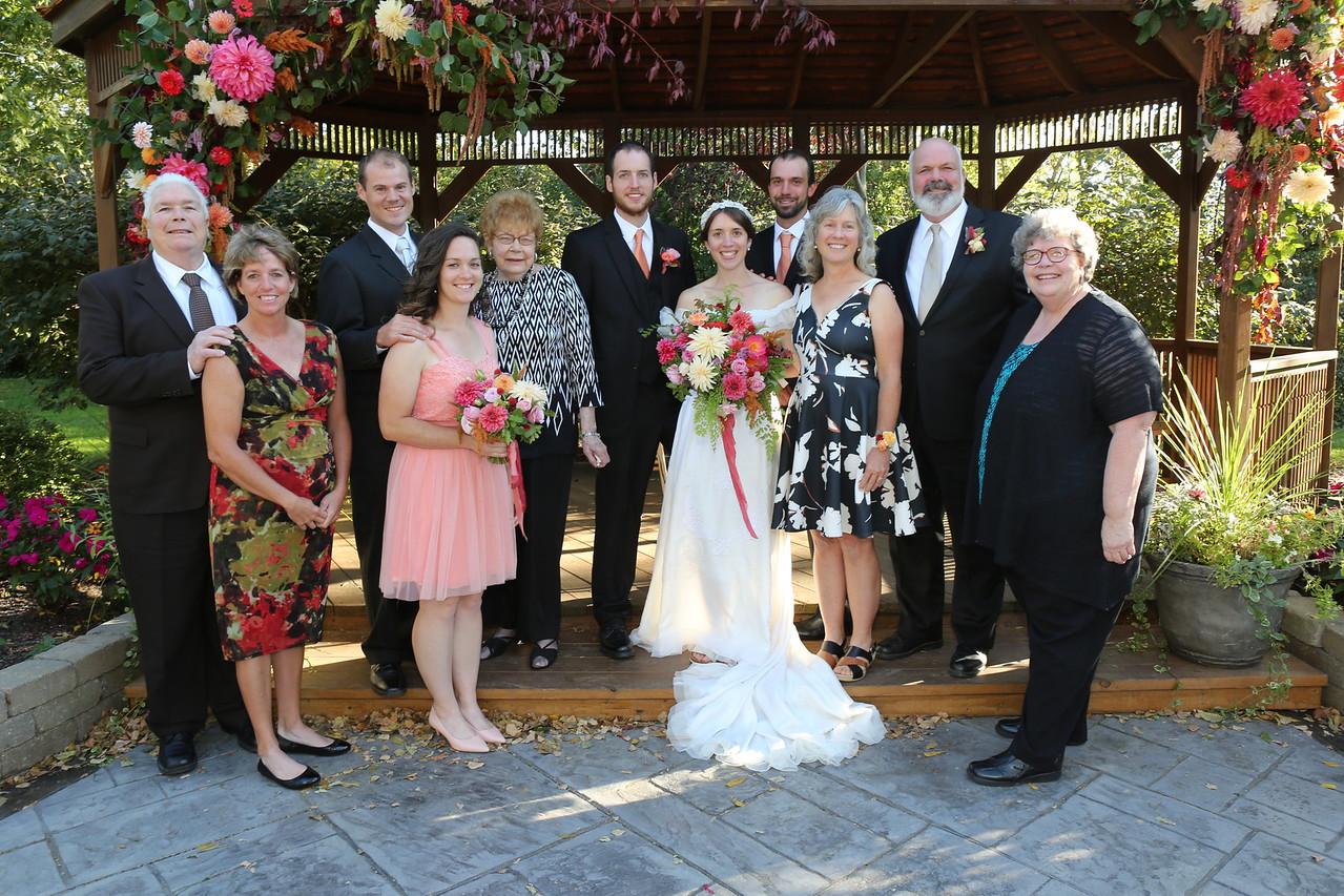 Joel & Nellie & extended Ashmore family