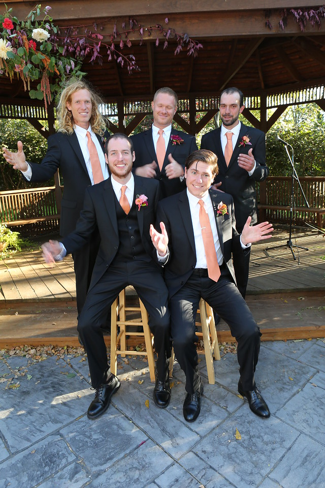 Grooms-men Joy!