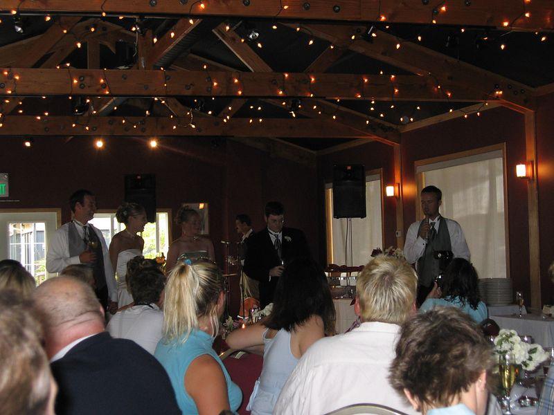 Josh still toasting again, lights still looking good