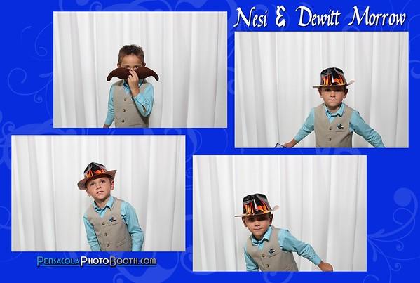 Nesi & Dewitt Morrow's Wedding 8-15-2015