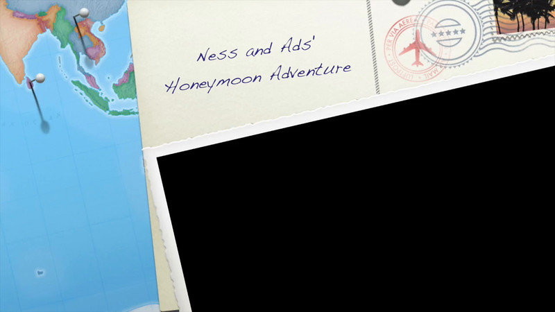 Ness and Ads' Honeymoon Adventure