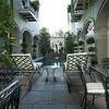Pool Courtyard at the Bienville House