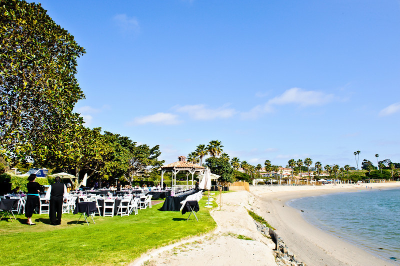Newport Dunes Waterfront Resort - beachfront wedding