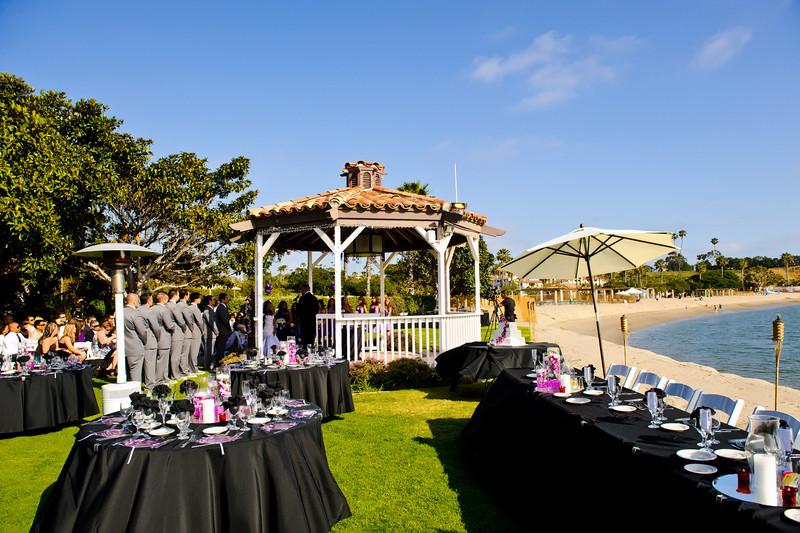 Newport Dunes Waterfront Resort wedding