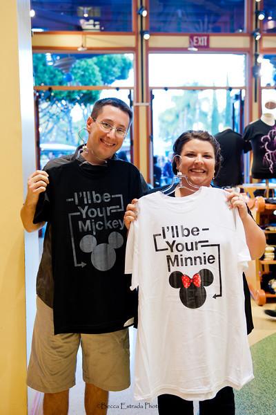 Engagement at Disneyland - Nichole and James - Becca Estrada Photography-11