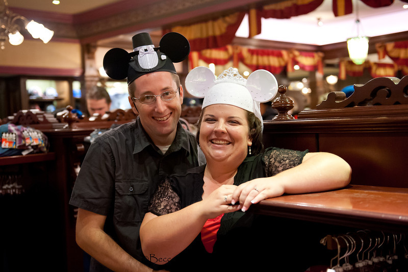 Engagement at Disneyland - Nichole and James - Becca Estrada Photography-85