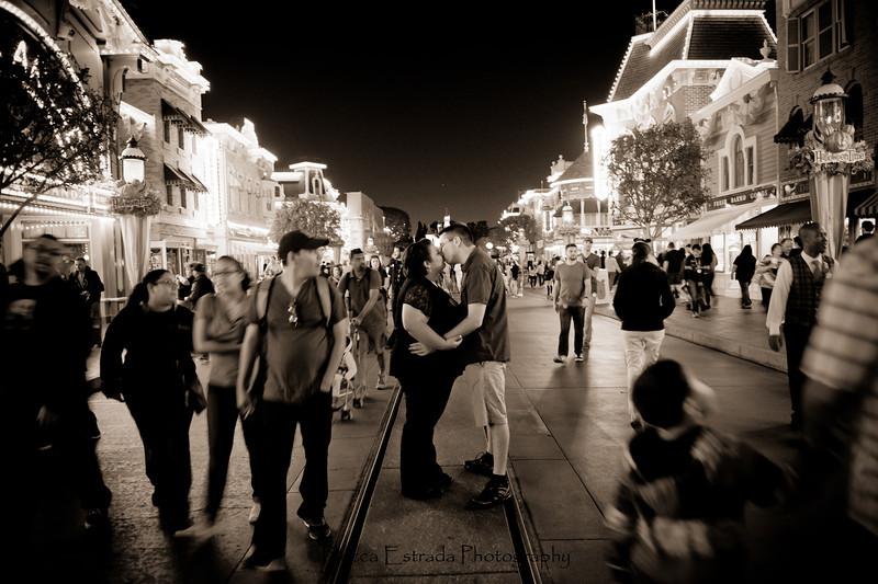 Engagement at Disneyland - Nichole and James - Becca Estrada Photography-77