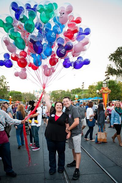 Engagement at Disneyland - Nichole and James - Becca Estrada Photography-29