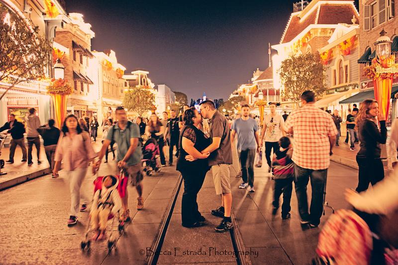 Engagement at Disneyland - Nichole and James - Becca Estrada Photography-78