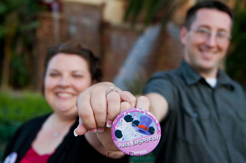 Engagement at Disneyland - Nichole and James - Becca Estrada Photography-2