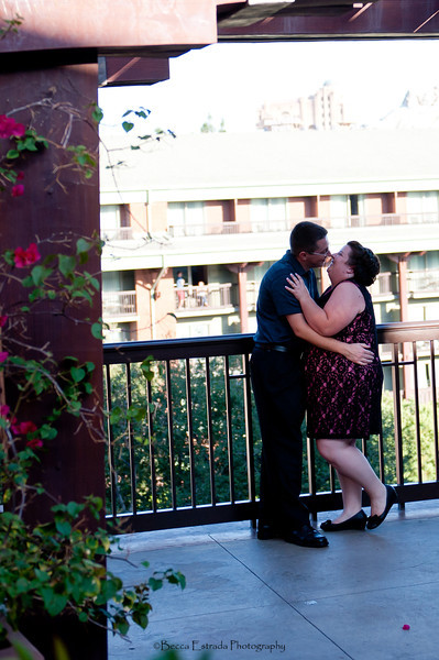 Engagement in Downtown Disney - Nichole and James - Becca Estrada Photography-40