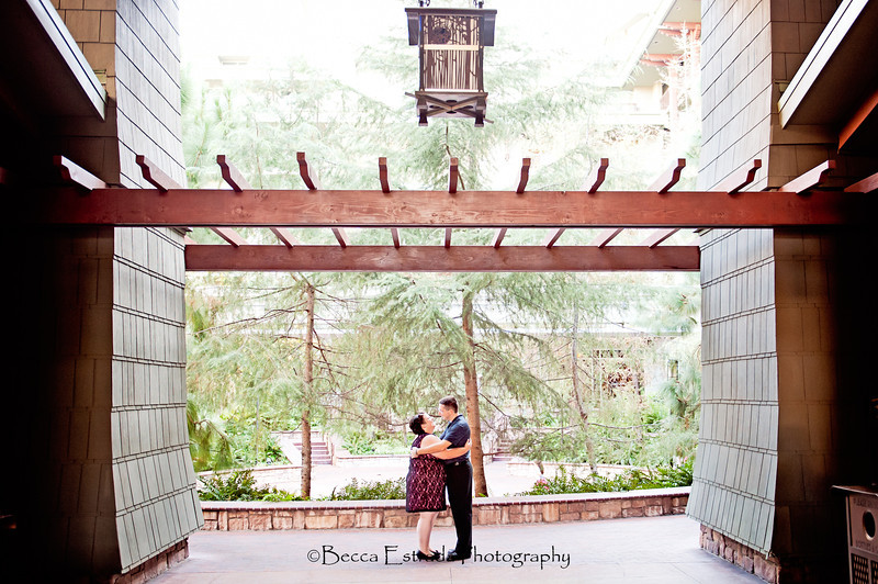Engagement in Downtown Disney - Nichole and James - Becca Estrada Photography-6