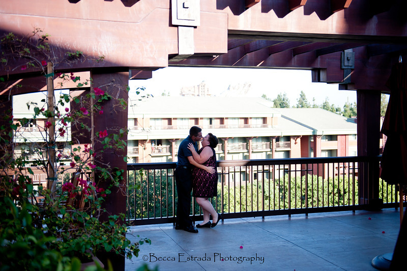 Engagement in Downtown Disney - Nichole and James - Becca Estrada Photography-39