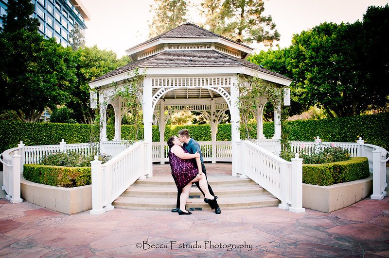 Engagement in Downtown Disney - Nichole and James - Becca Estrada Photography-89