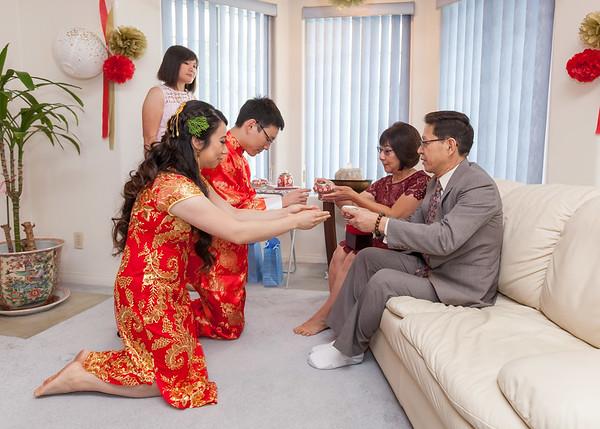 Nicole & Chris | Chinese Tea Ceremony