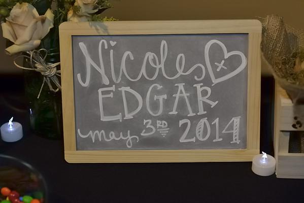 Nicole and Edgar's Wedding Reception