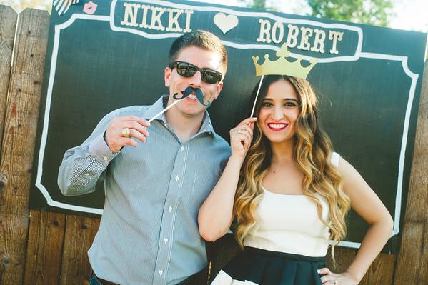 Nikki + Robert {Couples Shower}