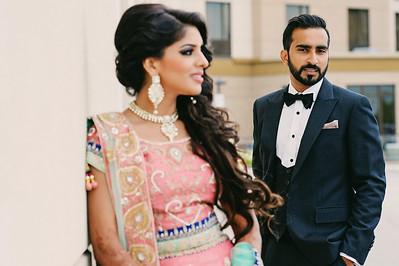 Nikki + Taj - Wedding
