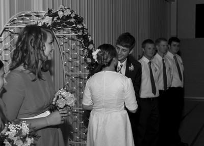 David and Marisa Novak Wedding Reception and RIng Ceremony