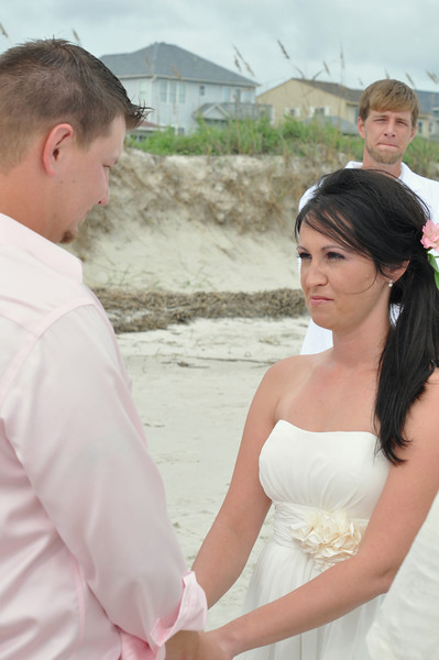 Oak Island Wedding Photographers-       Bryce Lafoon photography captures a Beach people Wedding at Oak Island, North Carolina.