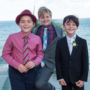Cool cats: Z, Liam and Truman.
