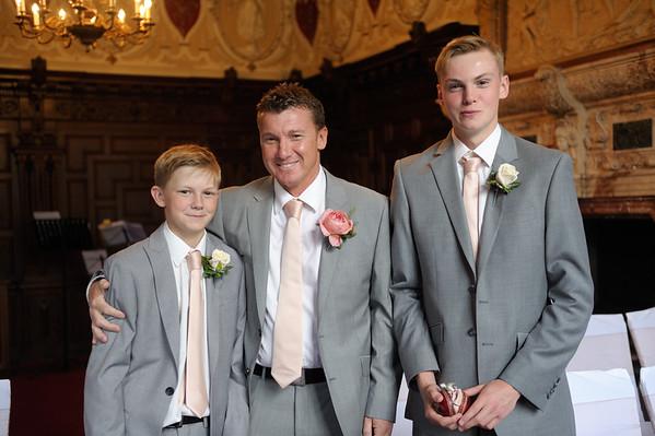 Sarah & Richard, Crewe Hall Wedding