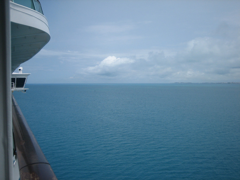 3rd days on the cruise, in Bermuda.