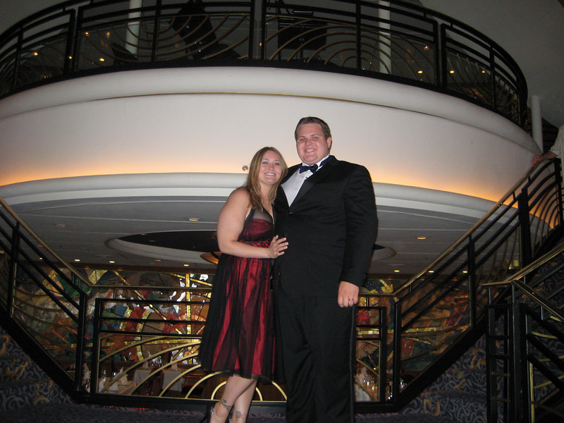 Our second formal night
