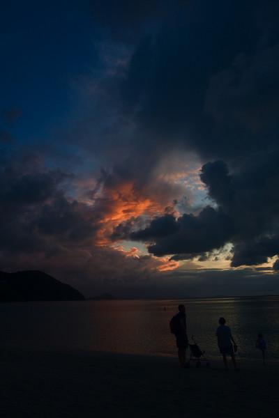 Cane Garden Bay sunset