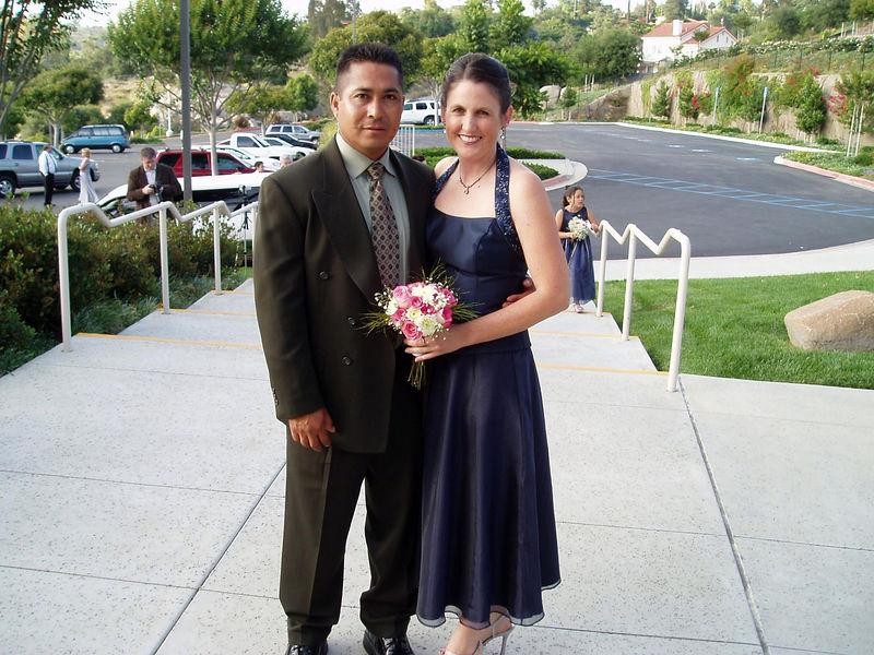 Julio and Kristi.