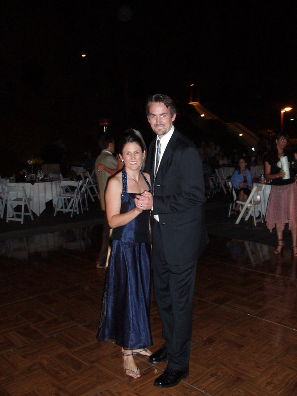 Probably the 2nd time I have danced with my sister.  The first time was her wedding.