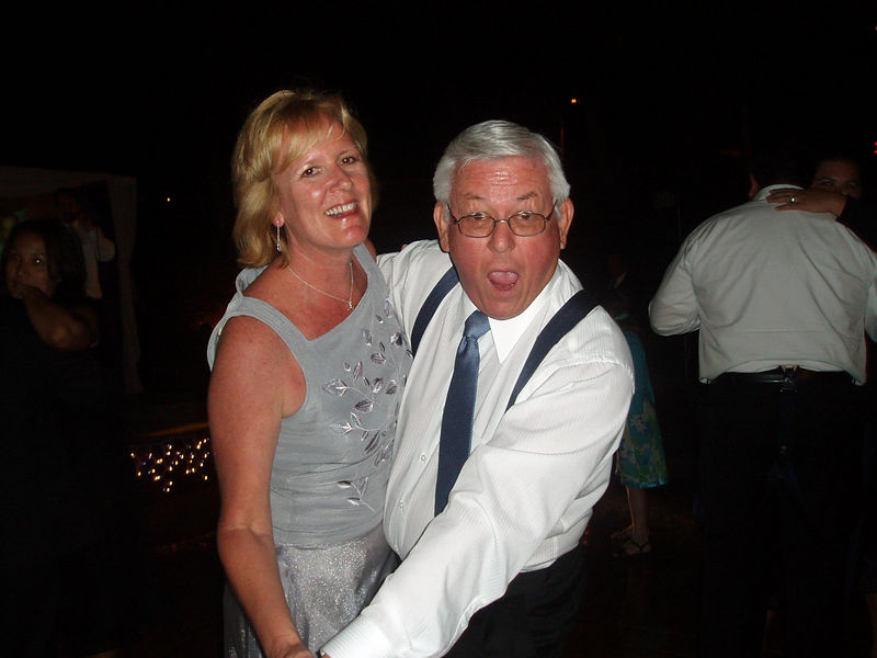 My dad danced all night long!