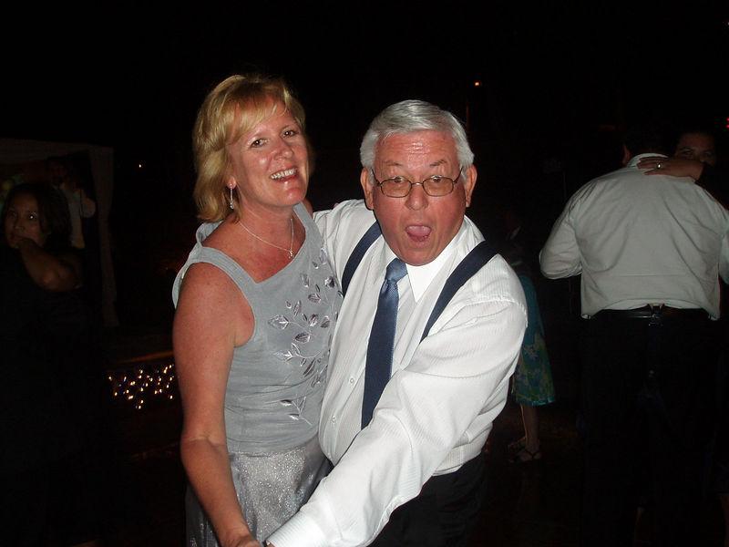 My dad danced all night long!