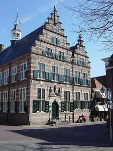 The town hall in Naarden Vesting where we got married. The building stems from the beginning of the 17th century!