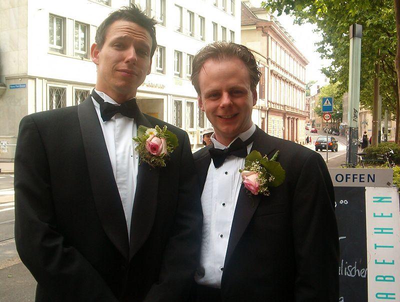 Nik and Chris