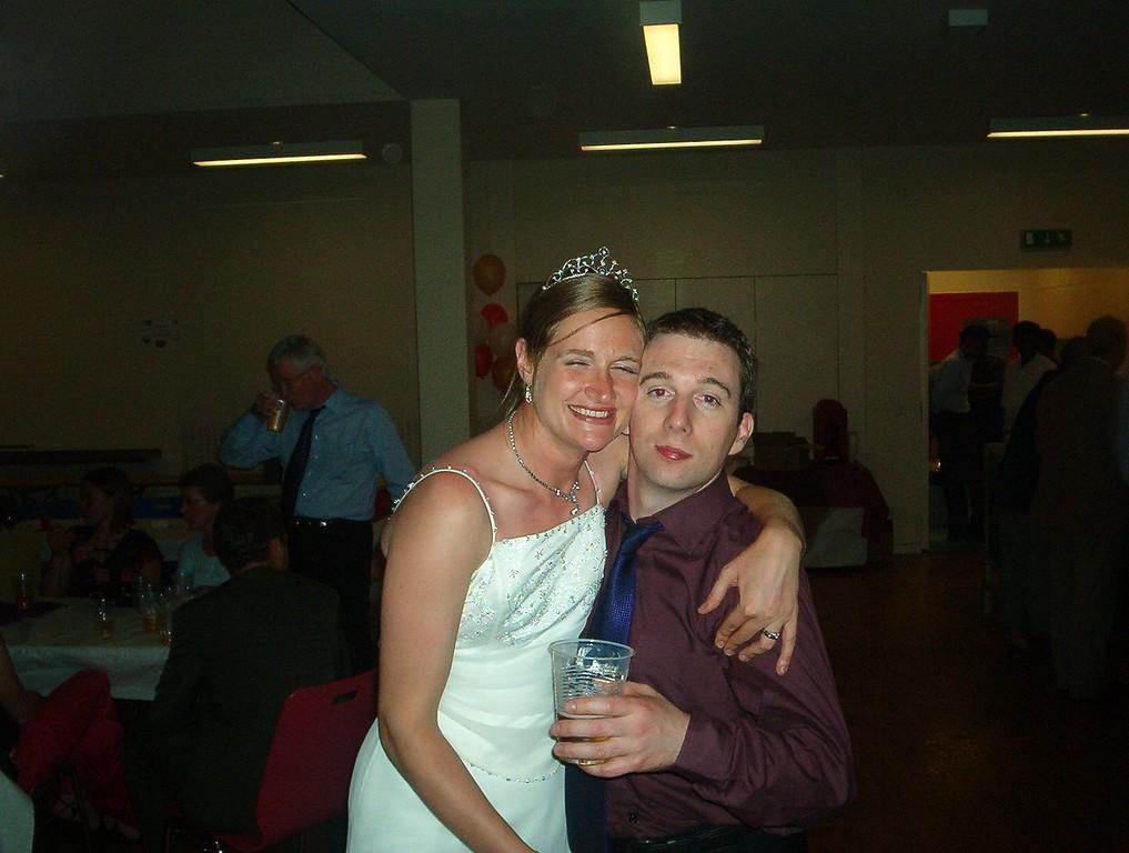 Sarah and Dave
