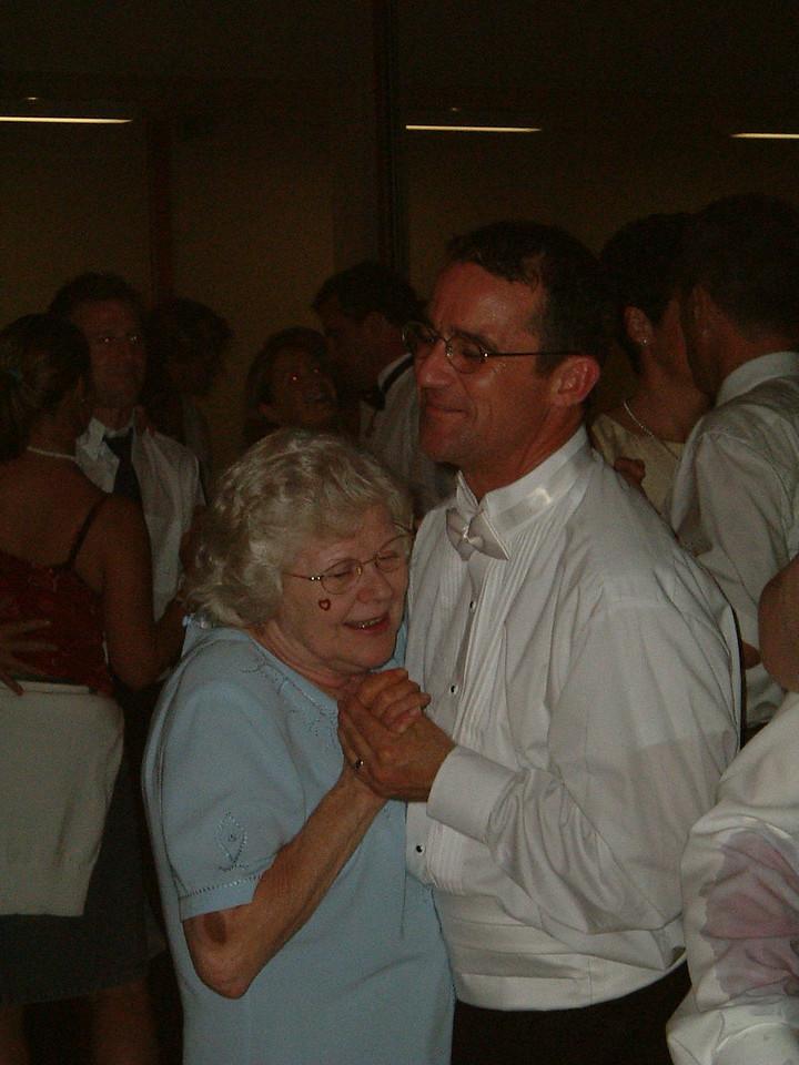 Mum and Mike Dancing