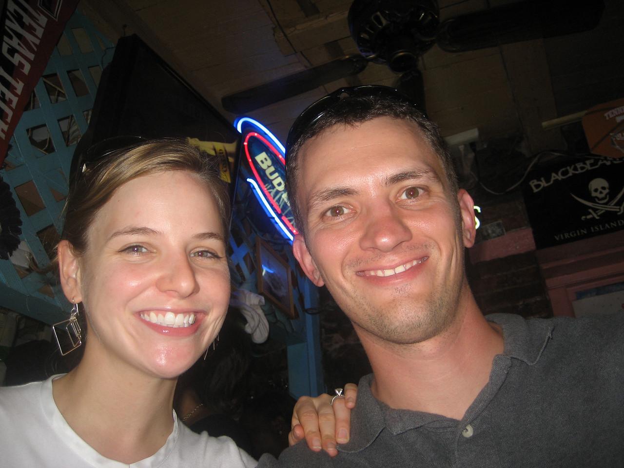 at a Red Sox bar on St Thomas