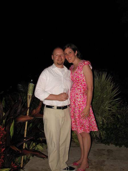Scott and Danielle on the Kalorama patio