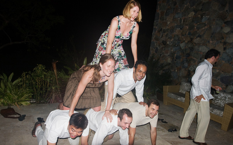Karen of course finished the pyramid