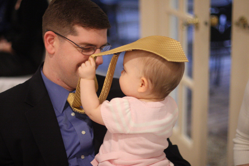 This is Brian Craig, a partner at Jude's work, and his daughter, Anna.
