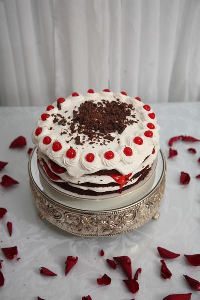 It's the groom's cake.