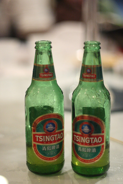 Our wedding featured beer from China.