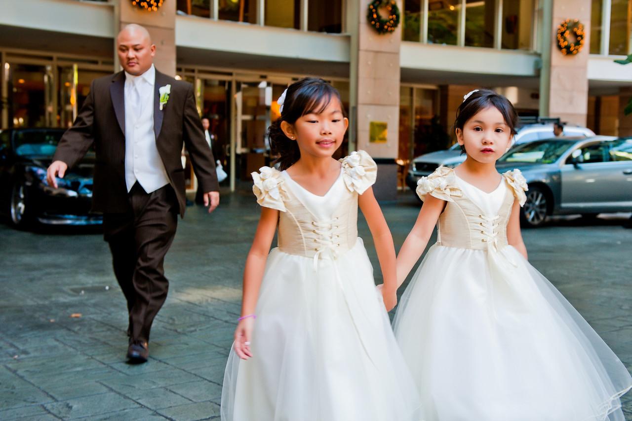 Weddings at Omni hotel in Los Angeles