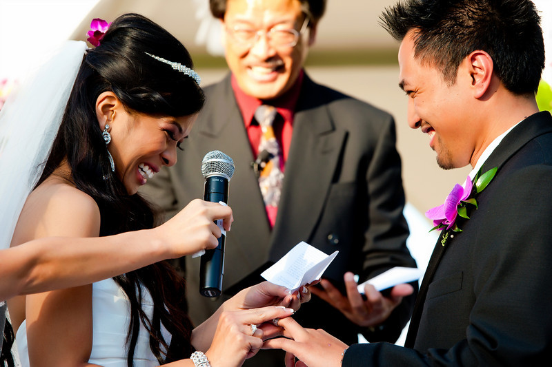 Make your wedding unique and extra special by writing your own wedding vows.