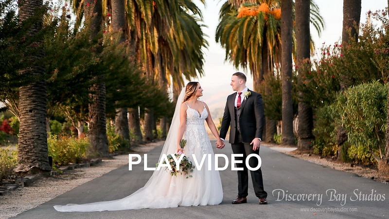 PLAY VIDEO - Palm Event Center Wedding Sara & Jeff