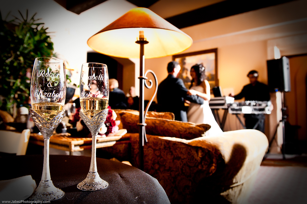 Photos of Wedding Champagne Glass