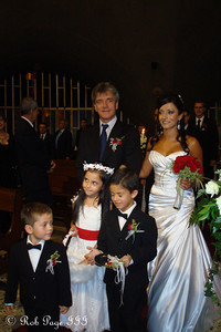 Javier walking his daughter down the aisle - Medellin, Colombia ... October 22, 2011 ... Photo by Emily Page