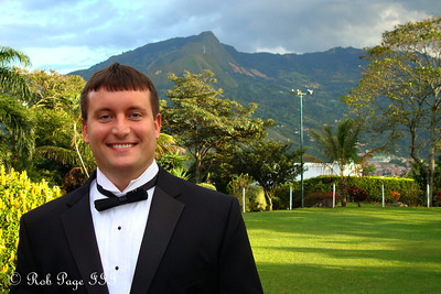Cliff on his wedding day - Medellin, Colombia ... October 22, 2011 ... Photo by Rob Page III